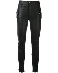 Alexander McQueen Skinny Biker Trousers