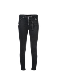 RtA Skinny Zip Detail Trousers