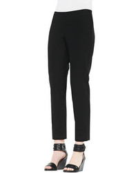 Eileen Fisher Slim Crepe Ankle Pants Petite