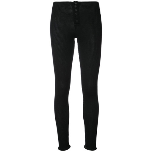 Faith Connexion Slim Fit Ribbed Trousers