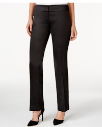 Nine West Solid Satin Pants
