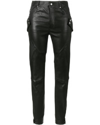 Alexander McQueen Stretch Biker Trousers