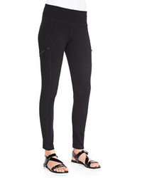 Eileen Fisher Stretch Skinny Pants With Zippers