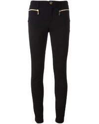 Versace Jeans Zip Detail Skinny Trousers