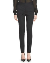 Saint Laurent Wool Blend Skinny Pants