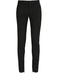 Saint Laurent Wool Gabardine Skinny Pants