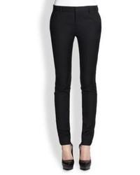Saint Laurent Wool Skinny Pants