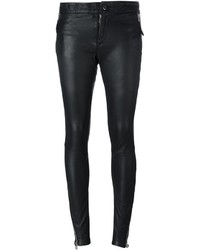 Zip detail skinny trousers medium 821179