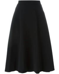 DKNY A Line Midi Skirt