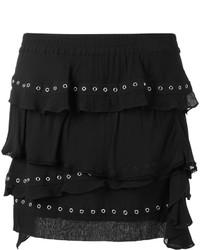 IRO Eyelet Ruffle Skirt