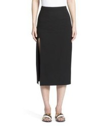 Lanvin High Slit Skirt