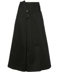 Y's O Yoke Panel Skirt
