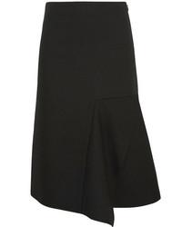 Acne Studios Peril Matt Piqu Skirt Black