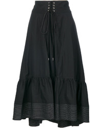 3.1 Phillip Lim Popeline Midi Skirt