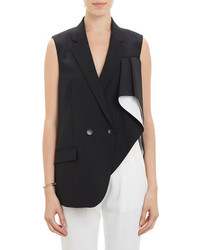 Theory Asymmetric Drape Side Jala Vest