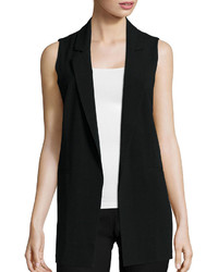 By And By Byby Long Open Vest