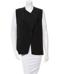 Helmut Lang Draped Tuxedo Vest