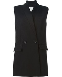IRO Sleeveless Flap Pocket Blazer