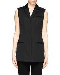 Alexander Wang Long Sleeveless Blazer