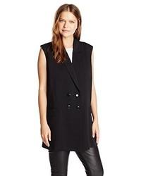 Lucca Couture Sleeveless Blazer