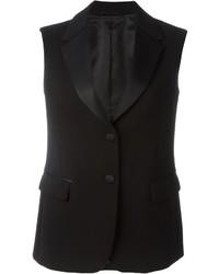 Neil Barrett Shawl Collar Waistcoat