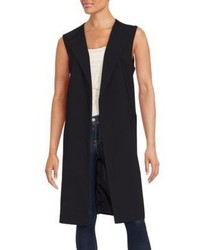 Set Open Front Sleeveless Vest