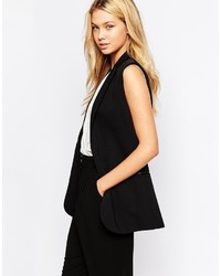 Mango Sleeveless Blazer