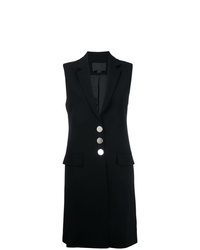 Alexander Wang Sleeveless Long Blazer