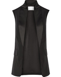 Alexander Wang Wool And Satin Vest