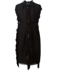 Lanvin Fringed Sleeveless Coat