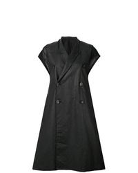 Rick Owens Short Sleeved Midi Coat
