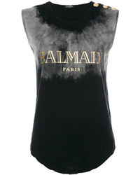 Branded sleeveless top medium 5146163