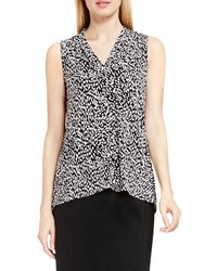 Vince Camuto Petite Sleeveless V Neck Top