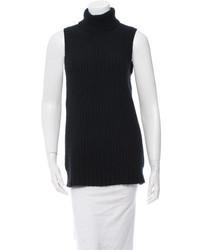 Michael Kors Michl Kors Sleeveless Turtleneck Sweater