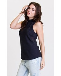 29390837ed7628 Only Hearts Delicious Sleeveless Turtleneck Out of stock · RVCA Juniors  Down Low Tunic Sleeveless Turtle Neck Sweater