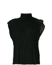 MM6 MAISON MARGIELA Scarf Neck T Shirt