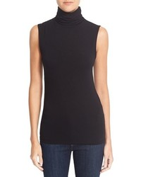 Majestic Filatures Sleeveless Turtleneck