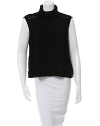 Helmut Lang Sleeveless Turtleneck Sweater