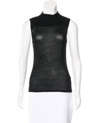 Helmut Lang Sleeveless Turtleneck Top