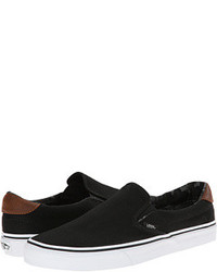 Black slip on sneakers original 9744681