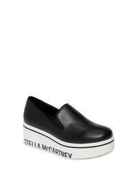 Stella McCartney Binx Logo Platform Slip On Sneaker