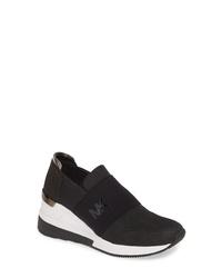 MICHAEL Michael Kors Felix Slip On Glitter Sneaker