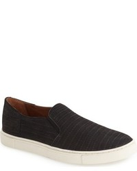 Frye Gemma Block Genuine Calf Hair Slip On Sneaker