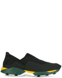 Marni Neoprene Slip On Sneakers
