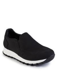 Prada Nylon Slip On Sneakers
