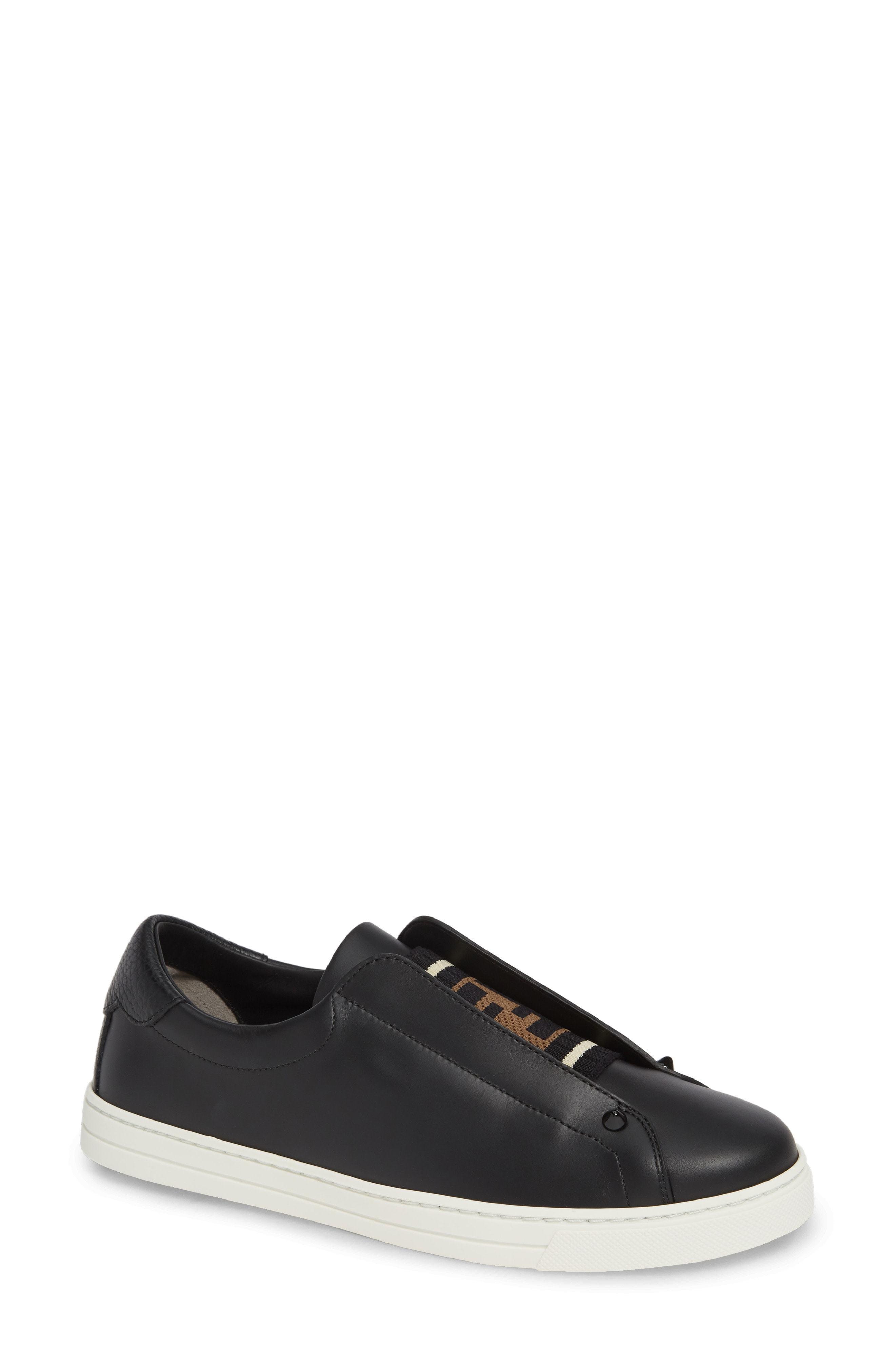 099e1e52ff3 Fendi Rockoclick Knit Logo Slip On Sneaker, $590 | Nordstrom ...