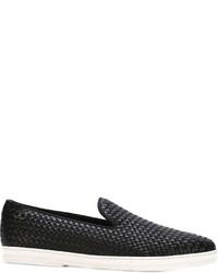 Salvatore Ferragamo Slip On Sneakers