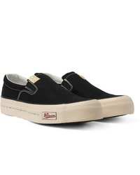 VISVIM Skagway Canvas Slip On Sneakers