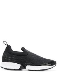 Armani Jeans Slip On Glitter Sneakers