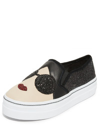 Alice + Olivia Stace Sofia Slip On Sneakers